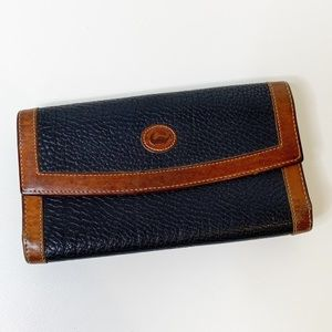 Vintage Dooney and Bourke wallet with coin pouch